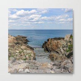 Marginal Way/Maine's Rocky Coast Metal Print