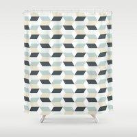 scandinavian Shower Curtains featuring Scandinavian by Pencil Studio