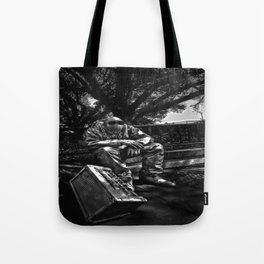 too Heavy Metal Tote Bag