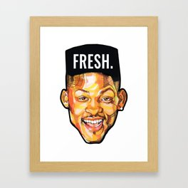 Fresh Framed Art Print