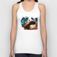 pandas Tank Tops featuring pandas dream by ururuty
