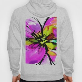 Ecstasy Bloom No.17e by Kathy Morton Stanion Hoody