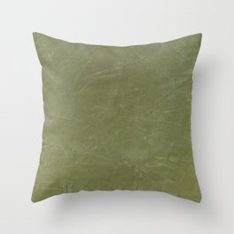 Italian Style Tuscan Olive Green Stucco - Luxury - Neutral Colors - Home Decor - Corbin Henry Throw Pillow