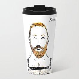 Beard Boy Harness 2 Travel Mug