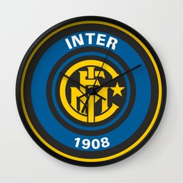 Inter Milan Logo Wall Clock