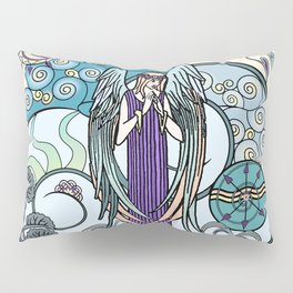 Angel of Clouds Pillow Sham