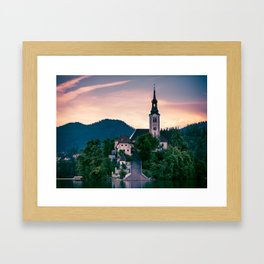 Lake Bled, Slovenia 3 Framed Art Print