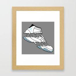 "11 "" COLUMBIA "" Framed Art Print"