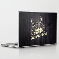 gta Laptop & iPad Skins featuring GTA V Mountain Chiliad by Spyck