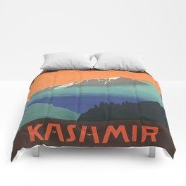 Vintage poster - Kashmir Comforters