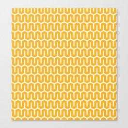 Snake zig-zag pattern Canvas Print