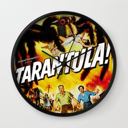 Tarantula (1955) Wall Clock