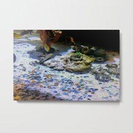Wondrous Ocean Floor Metal Print