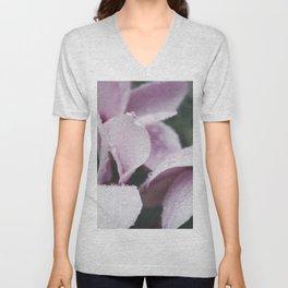 Pink Daisy still Life, flower fine art print, interior design, home decoration, bedroom Unisex V-Neck