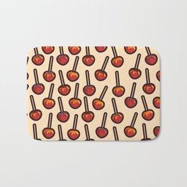 Caramelized Apples Bath Mat
