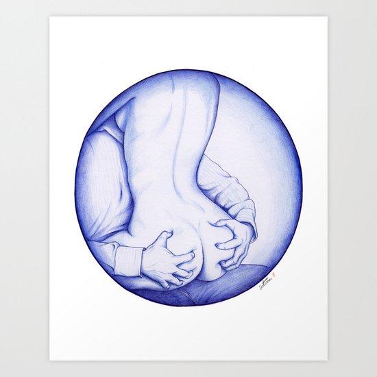 Squeeze, BIC love Art Print