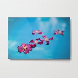 Floating Petals 03 (Set of 3) Metal Print