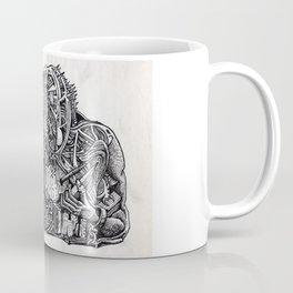 Psycho Warrior, by Brian Benson Coffee Mug