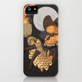 Pumpkin Witch iPhone Case