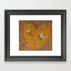 Hunie Bee Framed Art Print