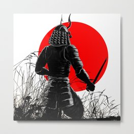 The way of warrior Metal Print