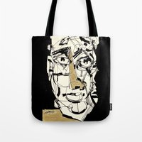 golden Tote Bags featuring Golden by 5wingerone