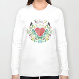Ábrete Corazón (open,heart) Long Sleeve T-shirt