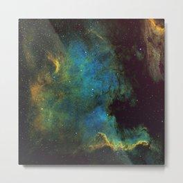 North American and Pelican Nebula Metal Print