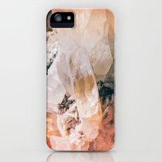 Dreamy Large Quartz Crystals iPhone (5, 5s) Slim Case