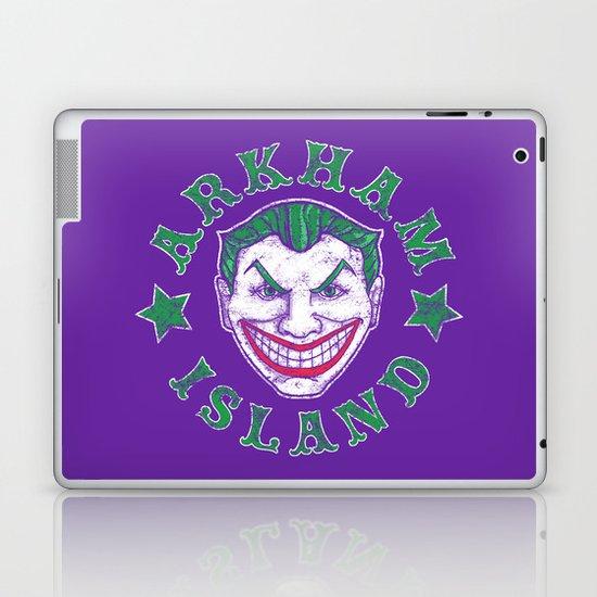 Arkham Island Laptop & iPad Skin