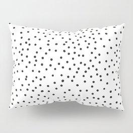 BLACK DOTS Pillow Sham