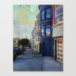 The Haight Canvas Print