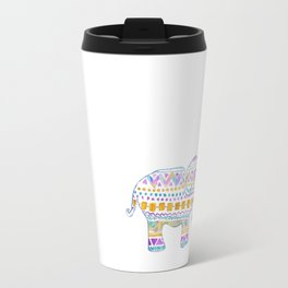 boho elephant Travel Mug