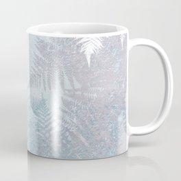 Fern Snowflakes - Taupe, Aqua & Blues Coffee Mug