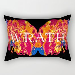 The Seven deadly Sins - WRATH Rectangular Pillow