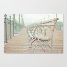 Pastel Pier Canvas Print