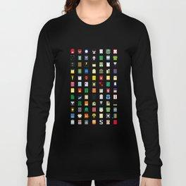 Minimalism Villains Long Sleeve T-shirt