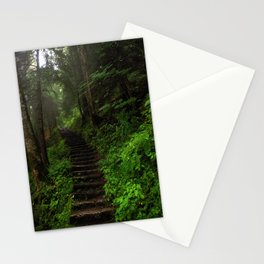 stairway. Stationery Cards