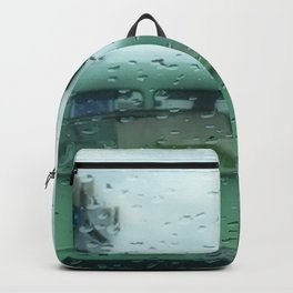 Rainy Days and Vintage Vehicles Backpack