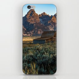 Wyoming - Moulton Barn and Grand Tetons iPhone Skin