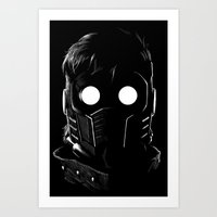 starlord Art Prints featuring Starlord by John Amor