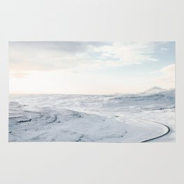 road in iceland Rug