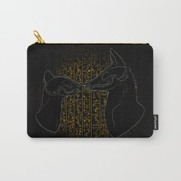 Sacred Anubis & Bastet Carry-All Pouch