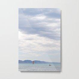 bright sail. Metal Print
