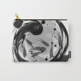 chinese feng shui white fish Carry-All Pouch