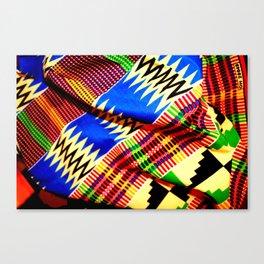 Folded Kente 1 Canvas Print
