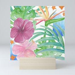 Malia's Tropical Print Mini Art Print