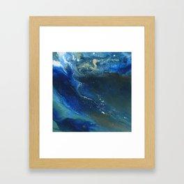 Ocean Crest Framed Art Print