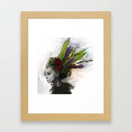 Great Hair Day Framed Art Print