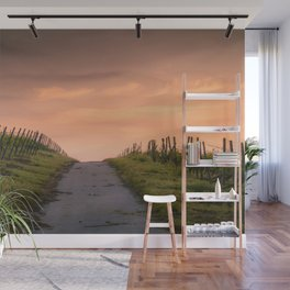 Sunset Path Wall Mural